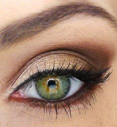 Day & Night Make Up... Finally a pin with my eye color!!!