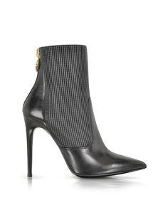 Loriblu Leather Ankle Booties