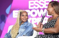 Black #Cosmopolitan Hot Shots: Mary J. Blige Debuts New Braids At Essence Festival - BlkCosmo.com   #EssenceMusicFestival, #HIPHOP, #JazmineSullivan, #Louisiana, #MARYJBLIGE, #MJB, #Singing        Mary J. Blige has experimented with an array of looks over the course of her illustrious career. And she shows no signs of stopping. The Queen of Hip-Hop/Soul was snapped at the 2017 Essence Music Festival in New Orleans last night sporting striking braids. MJB is intimately inv