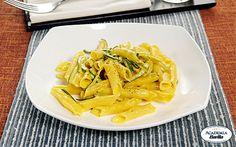 #Garganelli in carbonara di zucchine