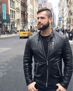 Simplr • A hot guy in leather