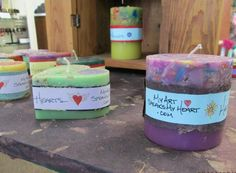 Adorable #handmade #gratitude #homedecor #gift candles