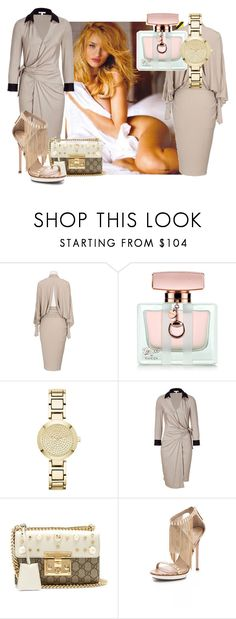 """oooz"" by baikbash ❤ liked on Polyvore featuring Whiteley, Alexandre Vauthier, Gucci, DKNY, Paule Ka and B Brian Atwood"