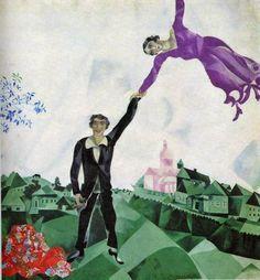 Marc Chagall nasceu na aldeia de Vitebsk, na Bielorrússia, no dia 7 de julho de 1887, o pintor, ceramista, gravador e vitralista surrealista Moishe Zakharovich Shagalov, futuramente conhecido como Marc Chagall.