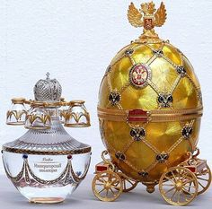 Russian Faberge Imperial Collection Vodka