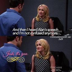 """#YoungAndHungry 2x09 """"Young & Pretty Woman"""" - Gabi and Josh"""
