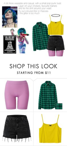 """""""Hayley Williams Fashion: Monumentour"""" by itsjusta-spark ❤ liked on Polyvore featuring Uniqlo, Monki, Topshop, paramore, Stealherstyle and hayleywilliams"""