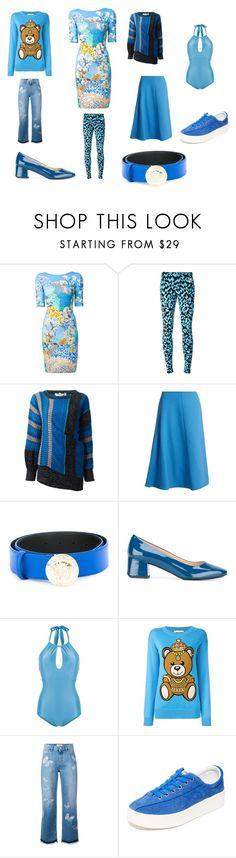 """Fashion fashinable"" by emmamegan-5678 ❤ liked on Polyvore featuring Mary Katrantzou, NIKE, Yves Saint Laurent, Marni, Versace, Tod's, ADRIANA DEGREAS, Moschino, Valentino and Tretorn"