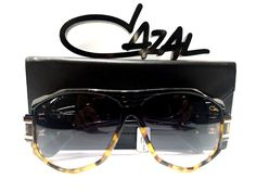 886a3b69dc5 Cazal 163 3 sunglasses 163 legend black tort (91) authentic new