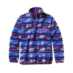 Patagonia Women's Synchilla® Recycled Fleece Lightweight Snap-T® Pullover http://www.mountainhighoutfitters.com/Products/Women's+Synchilla+Light+Weight+Snap-T.html