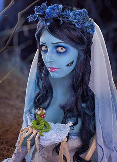 Rei Doll Halloween cosplay - Corpse Bride