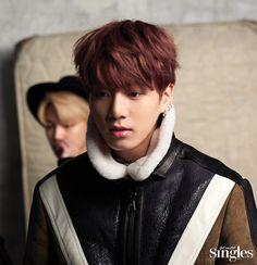 Jungkook ❤ BTS Behind the Scene for Singles Magazine January 2017 Issue #BTS #방탄소년단
