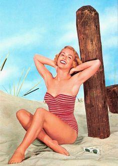 maillots de bain des annees 40 et 50 30   Maillots de bain des années 40 et 50   vintage pin up photo maillot de bain image années 50 années 40