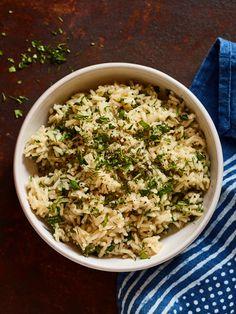 Israeli Green Rice - Joy of Kosher