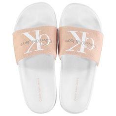 Calvin Klein   Chantal Sliders by Calvin Klein   Ladies Footwear