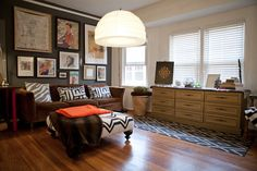 Joan Hiller House Tour / Apartment Therapy