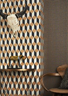 Delano Wallpaper - Cole & Son - Geometric II Collection