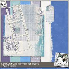 Scrap Art Studio mini kit freebie from Scrap Art Studio