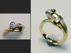Tapered Collet Trumpet Ring
