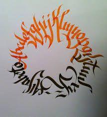 calligraffiti abc