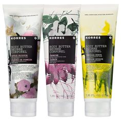 Korres : Luxury Body Butter Trio : bath-gift-sets