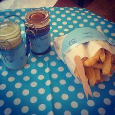 Post aus meiner Küche: Brause-Fritten mit Marmeladen-Ketchup und Schokoladen-Mayo #pamk
