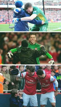 Arsenal Players & Ball Boys Celebrations 2013-2014 Montage.
