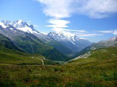 The Tour du Mt. Blanc is tough as shit but the views are ridiculous.  hikebiketravel.com!