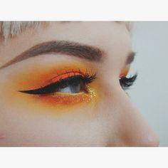 Orange & Yellow Eyeshadows // The Glow Lab