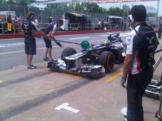 2012, P2: Bruno also back - he says there was lots of traffic during that run!