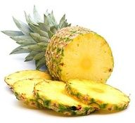 Fresh pineapple is a natural remedy for sore throats because of an anti-inflammatory chemical called bromelain. The citric acid cuts through mucus and the anti-inflammatory properties soothe the irritation in the back of the throat. Great treatment for sick children.
