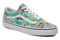 Vans Old Skool W (Multicolore) - Baskets chez Sarenza (217710)