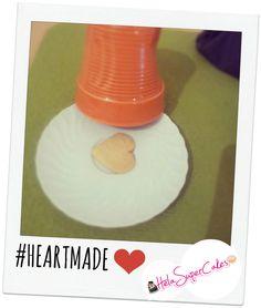 #cookie #heart #heartmade #helasupercakes #cakedesign