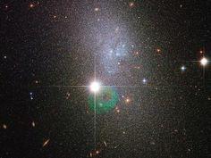 Hubble vê um Vapor das Estrelas