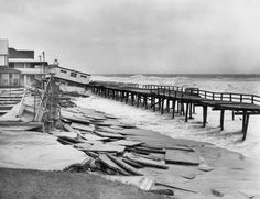Beaches were washed away, homes swept up and carried for miles, hotels crashed to the ground. Read about the massive 1962 storm that hit Delaware. Rehoboth Beach Delaware, Lewes Delaware, Delaware River, Delmarva Peninsula, Fenwick Island, Bethany Beach, Sussex County, Outdoor Spa, Beach Town