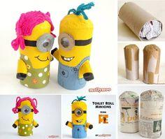 #sinterklaas #surprise idee: Minion Crafts