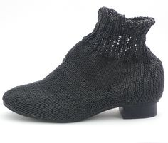 Bless knit shoes $375 - Not that I would wear these in a million years, but they made me laugh.