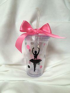 Ballerina Tumbler Ballerina gift Dance gift Ballet by lawler01