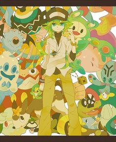 N (Pokemon Black & White versions). Arceus help me, I love Fifth Gen.