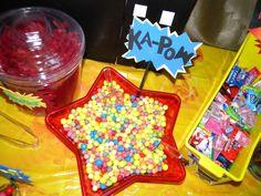 superhero birthday party-Georgie's 3rd birthday | CatchMyParty.com