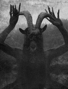 macabre occult halloween surreal art to make you shiver Arte Horror, Horror Art, Dark Fantasy, Fantasy Art, Satanic Art, Occult Art, The Occult, Baphomet, Dark Photography