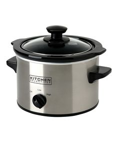 Stainless Steel 1.5-Qt. Slow Cooker