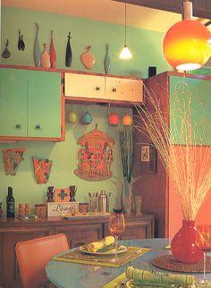 Color scheme, kitchen (citrus)