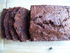 Chocolate banana bread - great for the freezer