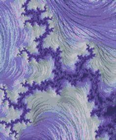 https://www.etsy.com/listing/522579163/fractal-cross-stitch-pattern-new-for #DMC #Threads #crossStitch #etamin #embroidery #fabric #decorate #pattern #ornament
