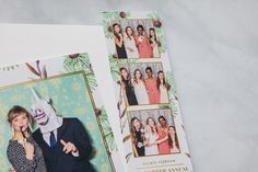 Photo Booth Templates: Botanical Collection