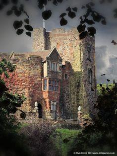 https://flic.kr/p/oJf4kV   Tamworth Castle   Tamworth Castle as seen further back from the trees opposite the River Anker.