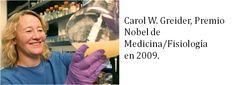 En Zona Feminista: Mujeres Ganadoras del Premio Nobel (XLII). Carol W. Greider