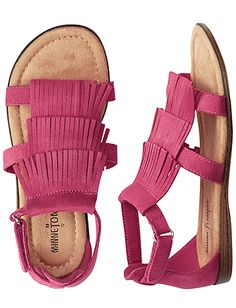 Fringe Sandal By Minnetonka from Hanna Andersson