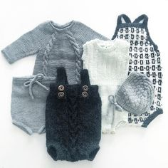 Ja vi elsker @ministrikk! Baby Boy Knitting, Knitting For Kids, Baby Boy Fashion, Kids Fashion, Baby Outfits, Kids Outfits, Diy Bebe, Knitted Baby Clothes, Crochet Bebe